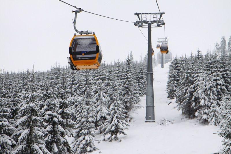 Gondola lift in Świeradów