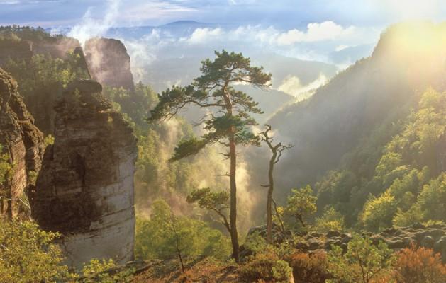 Saxon Switzerland and Bohemian Switzerland