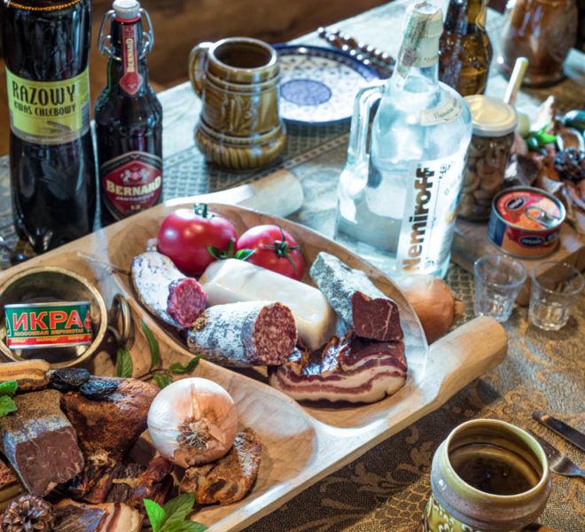 Feast in the banya